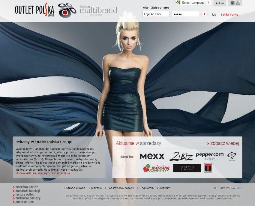 b0c5e5029 Portfolio   Outlet Polska - Sklep internetowy i strona www firmy ...